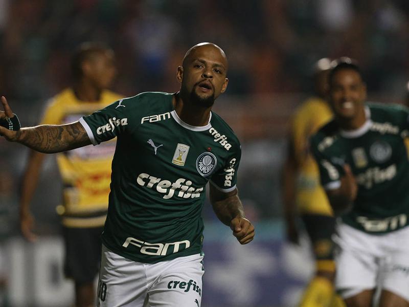 Palmeiras goleia o Novorizontino e avança às semifinais do Campeonato Paulista