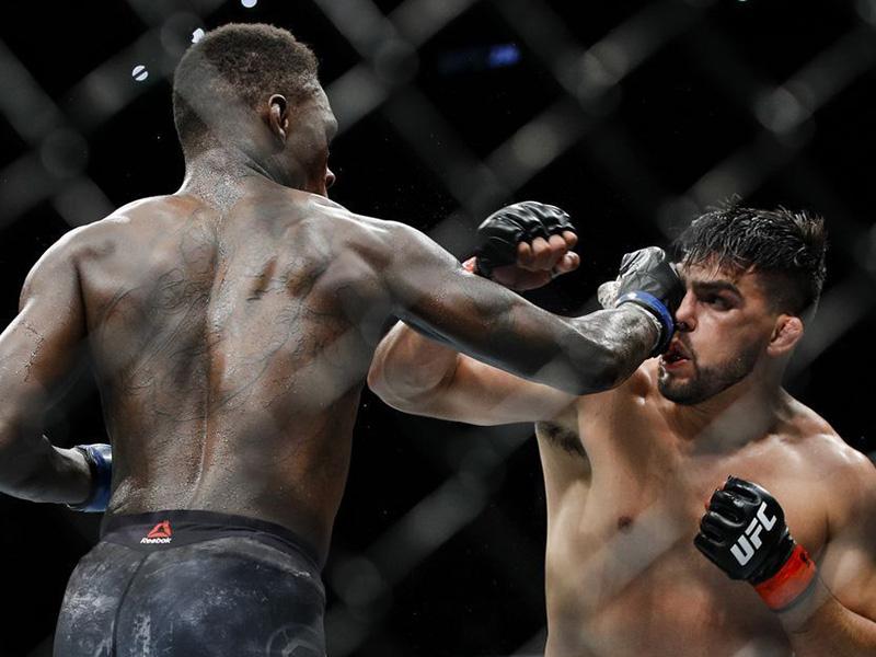 Adesanya vence luta épica com Gastelum e conquista o cinturão interino dos médios do UFC