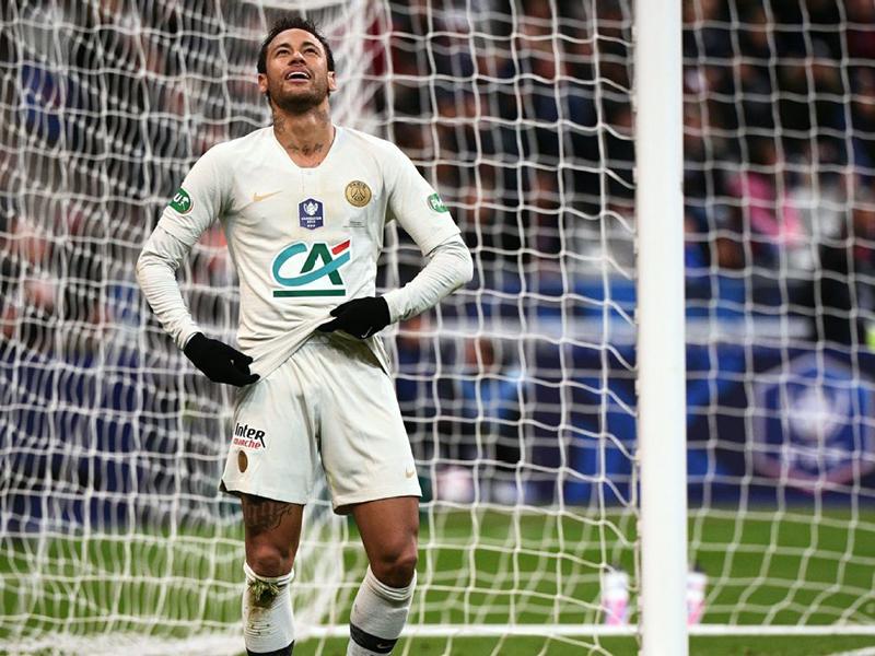 Mesmo com Neymar, PSG perde título da Copa da França para o Rennes