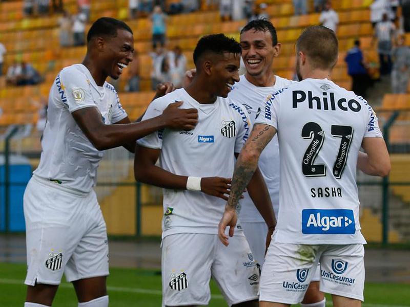 Rodada #4 do Brasileirão tem vitórias de Santos e Palmeiras
