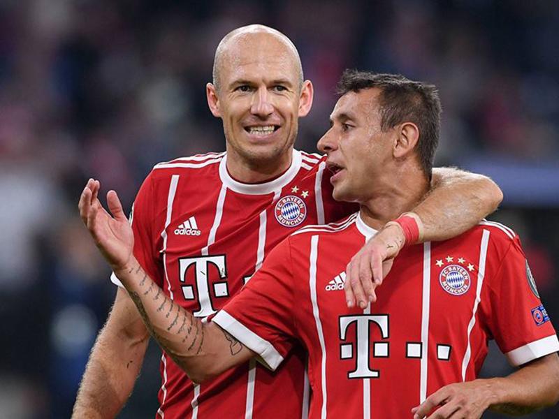 Rafinha e Robben se despedem do Bayern de Munique na próxima temporada