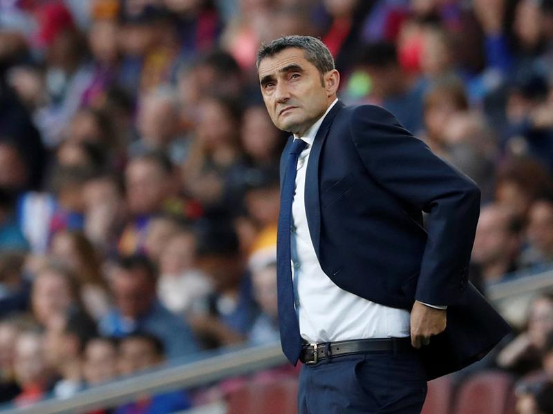 Presidente do Barcelona garante permanência de Ernesto Valverde