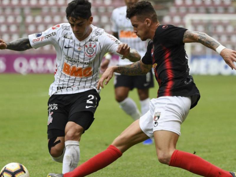 Corinthians, Fluminense, Galo e Botafogo estão nas oitavas de final da Copa Sul-Americana