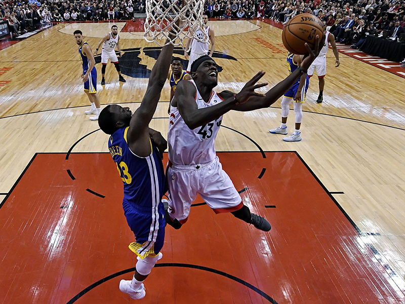 Raptors vencem os Warriors no jogo 1 da final da NBA