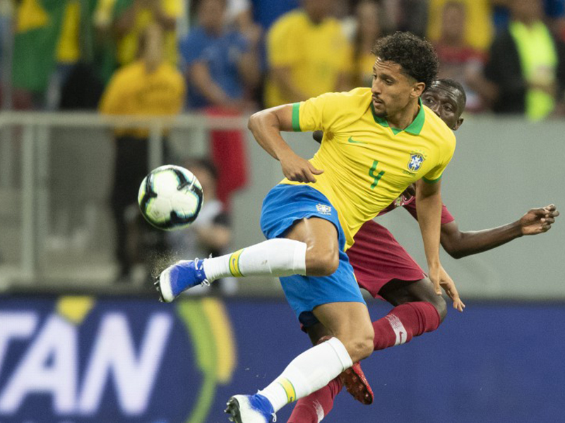 Brasil vence o Catar por 2 a 0 em Brasília
