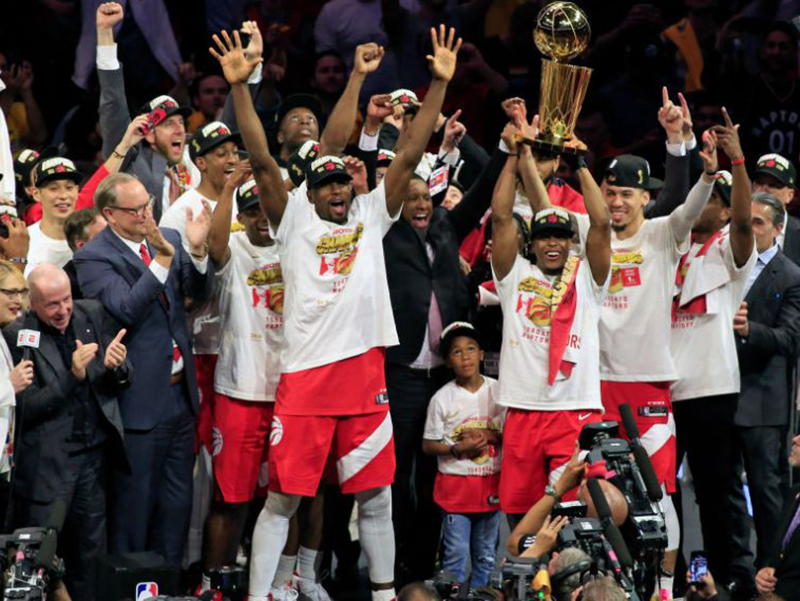 Raptors vencem um épico jogo 6 e são os campeões da NBA