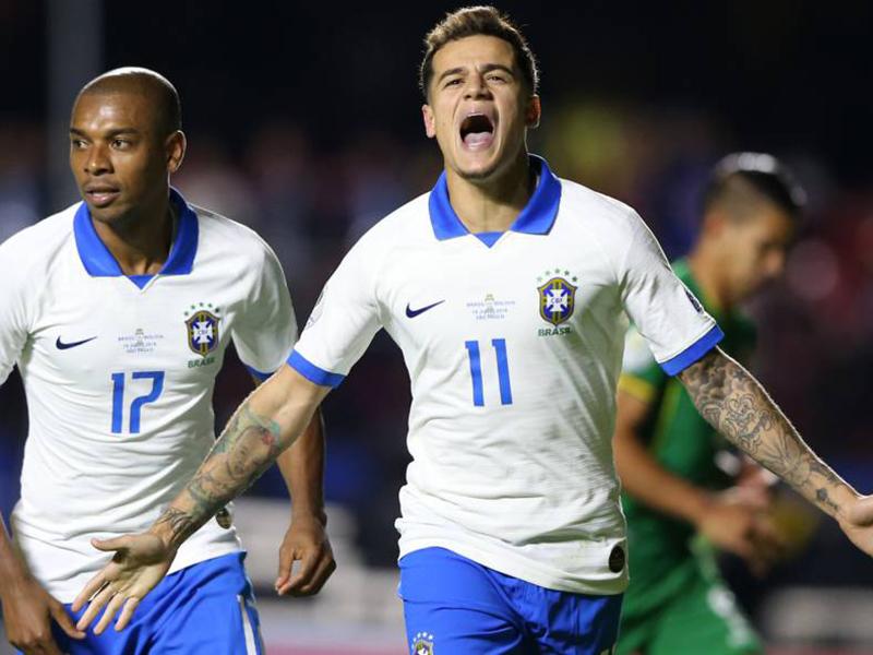 Brasil abre a Copa América com vitória tranquila sobre a Bolívia