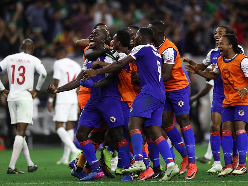 Estados Unidos, México, Jamaica e Haiti estão nas semifinais da Copa Ouro