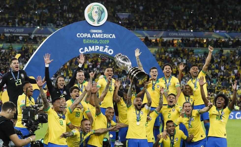 Brasil faz 3 a 1 no Peru e é campeão da Copa América