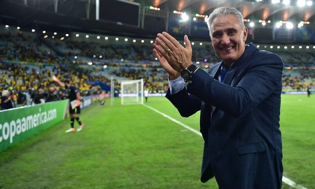 Com título da Copa América, Tite ganha sobrevida rumo a Copa de 2022