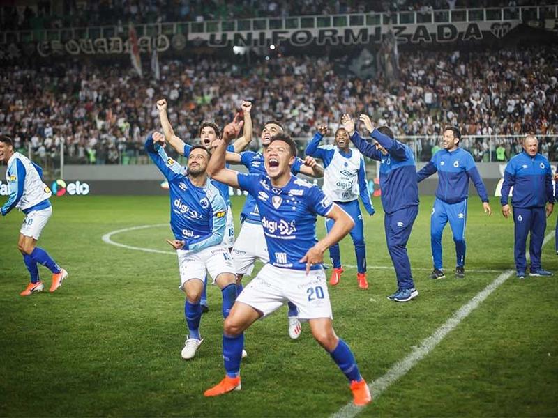 Atlético-MG vence, mas é o Cruzeiro quem avança na Copa do Brasil