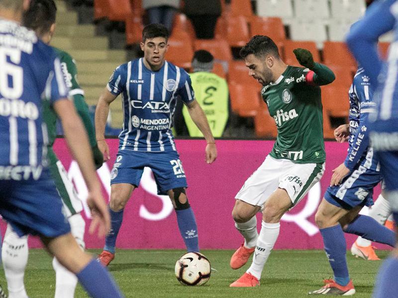 Palmeiras empata com o Godoy Cruz na Argentina