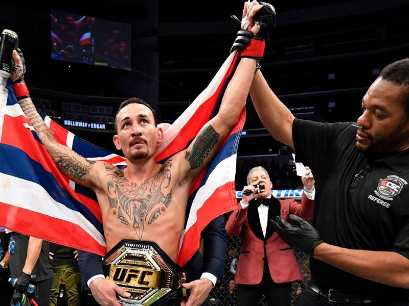 Max Holloway vence Frankie Edgar e mantém o cinturão dos penas do UFC