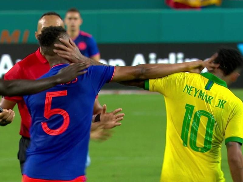 Brasil fica no empate por 2 a 2 com a Colômbia em Miami