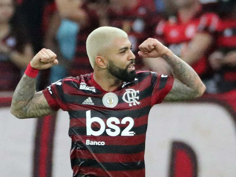 Gabigol decide e Flamengo encerra 1º turno do Brasileirão  isolado na liderança