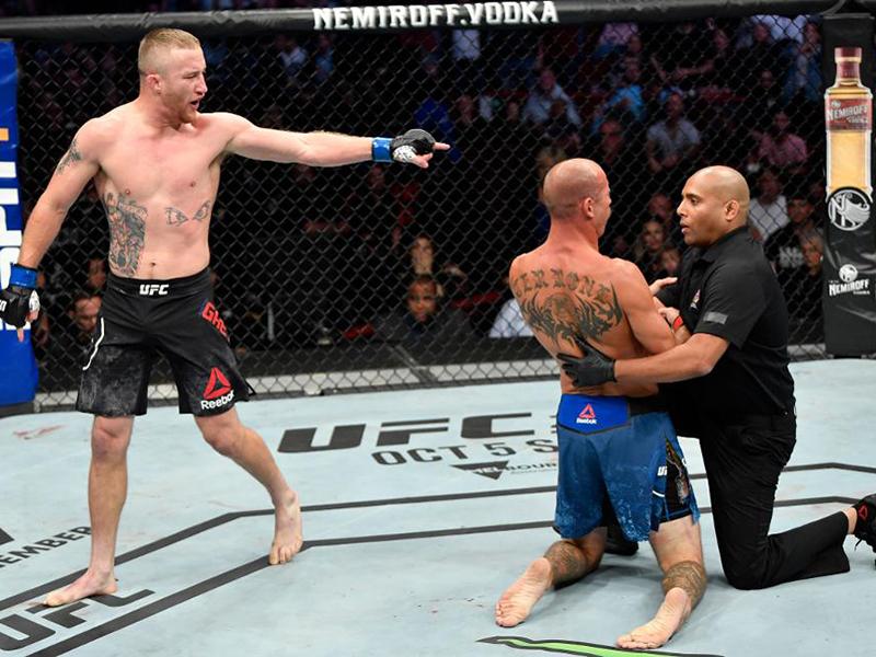Gaethje nocauteia Cerrone no Main Event do UFC Vancouver