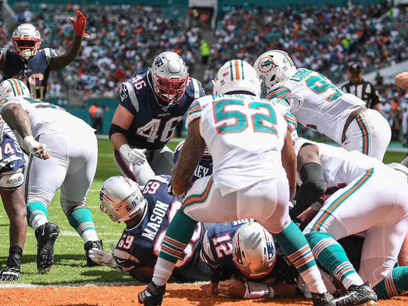Patriots vencem mais uma; Big Ben e Drew Brees se lesionam
