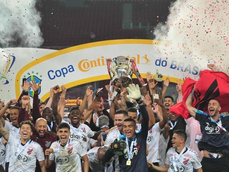 Athlético-PR volta a vencer o Internacional e conquista a Copa do Brasil