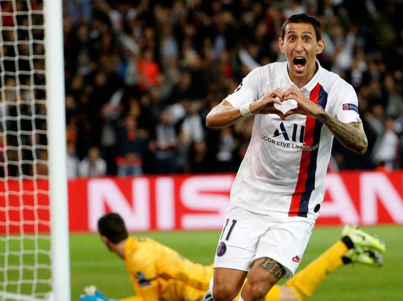 Mesmo muito desfalcado, PSG atropela o Real Madrid no Parc des Princes