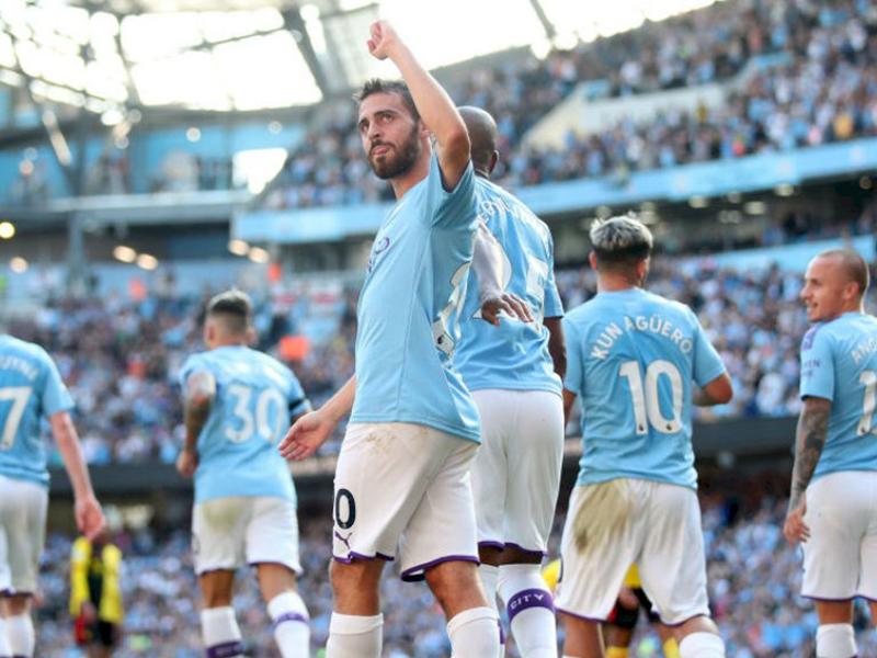 Manchester City faz maior goleada de sua história pela Premier League