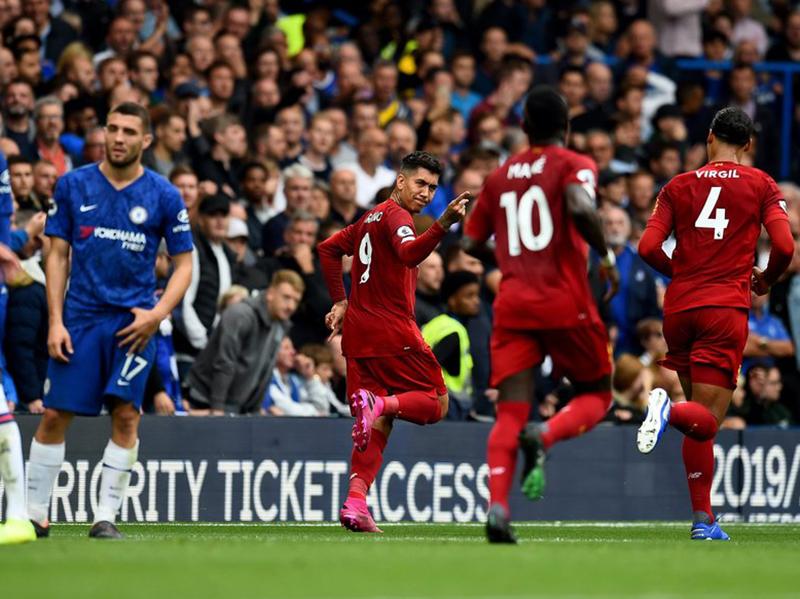 Com 100% de aproveitamento, Liverpool vence Chelsea e dispara na Premier League