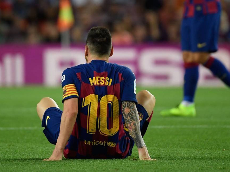 Melhor jogador do mundo pela 6ª vez, Messi teve temporada de altos e baixos