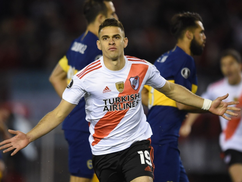 River Plate domina o Boca Juniors e vence por 2 a 0 no Monumental