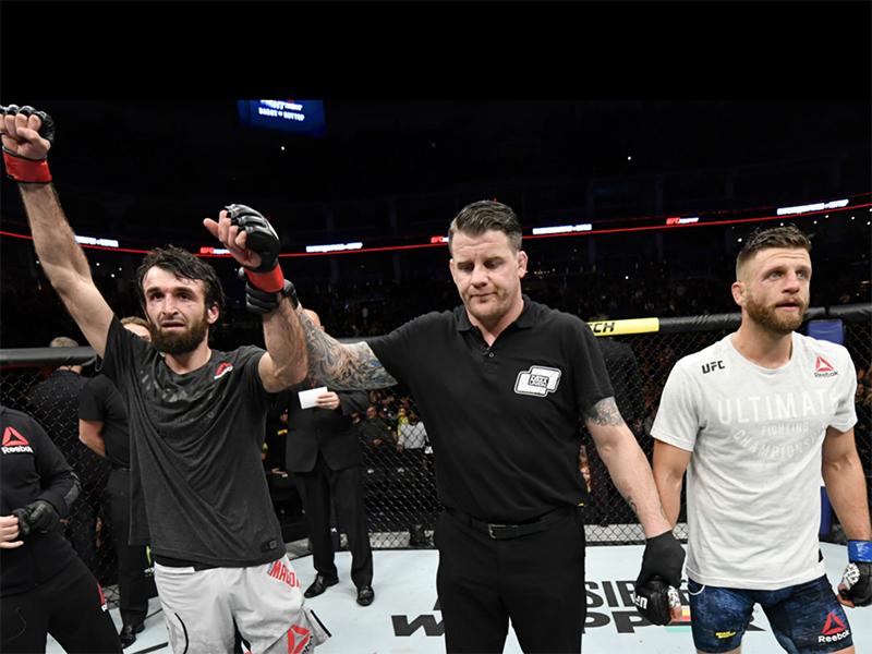Zabit vence Kattar por decisão dos jurados e segue invicto no UFC