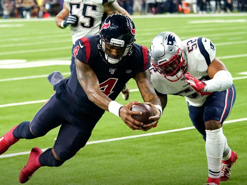 13ª semana da NFL: Texans surpreendem os Patriots; Ravens derrotam os Niners