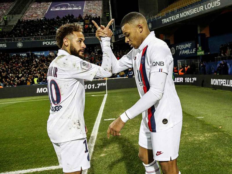 Neymar volta a marcar em vitória do PSG pelo Campeonato Francês