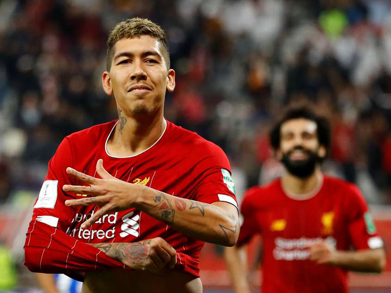 Firmino garante vitória no fim e Liverpool está na final do Mundial de Clubes