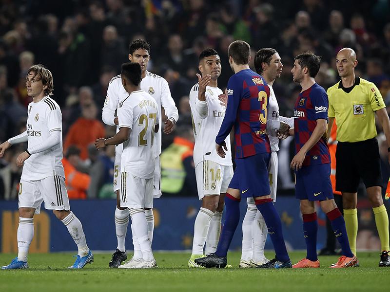 Barcelona e Real Madrid não saem do zero em El Clásico