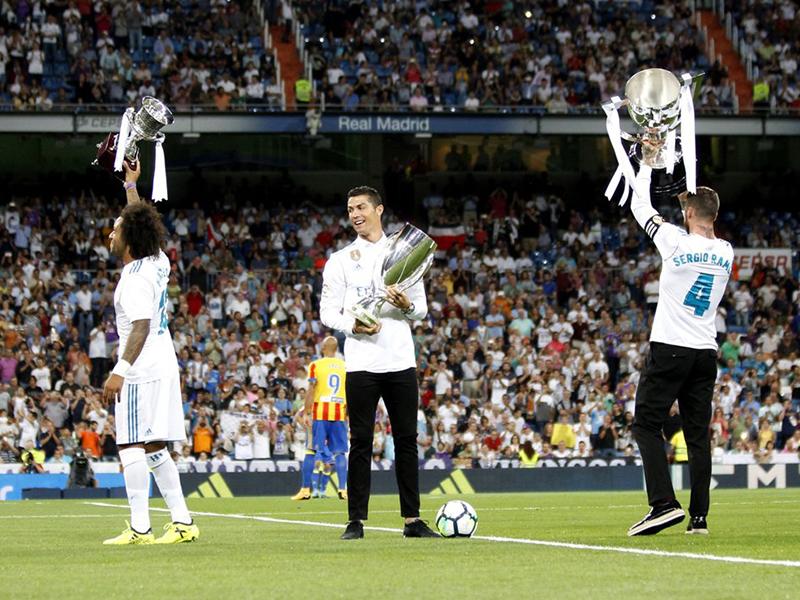 Desempenho do Real Madrid com seus últimos três técnicos