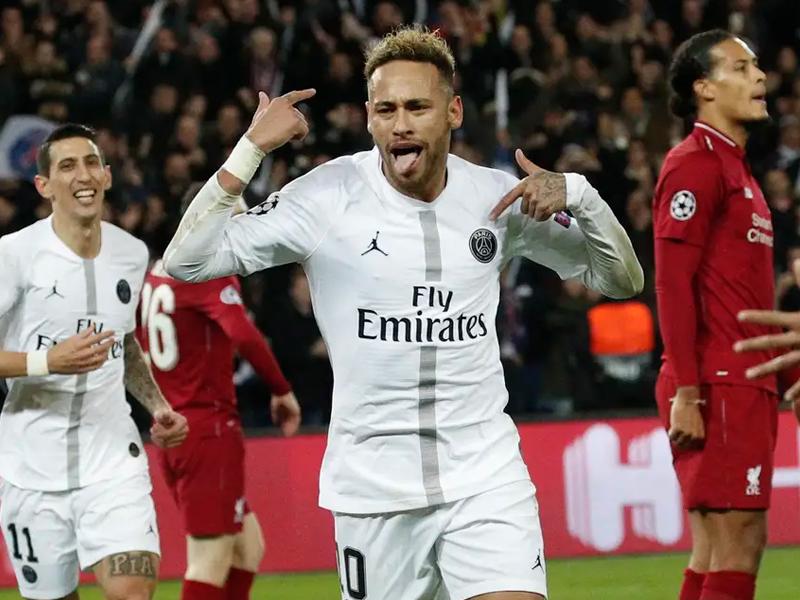 PSG deixa o Liverpool em situação complicada; Tottenham derrota a Inter
