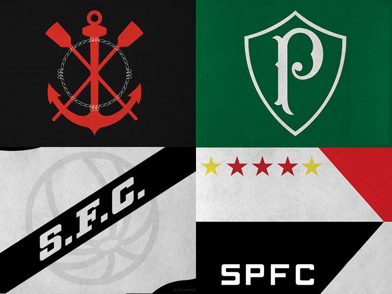 Atacantes que foram destaques no Brasileirão pelos quatro grandes de São Paulo