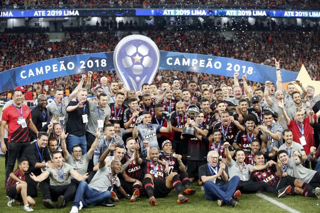 Atlético Paranaense é o campeão da Sul-Americana